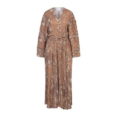 ナヌーシュカ NANUSHKA ロングワンピース&ドレス サンド XS レーヨン 95% / ポリウレタン 5% ロングワンピース&ドレス