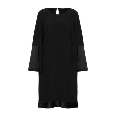 ルイーザ・セラノ LUISA CERANO ミニワンピース&ドレス ブラック 38 トリアセテート 81% / ポリエステル 19% ミニワンピース