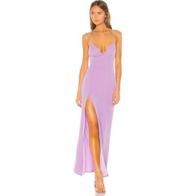 ラヴァーズフレンズ Lovers + Friends レディース パーティードレス ワンピース・ドレス Julie Gown Lilac