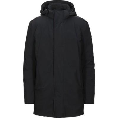 ランボルギーニ AUTOMOBILI LAMBORGHINI メンズ ダウン・中綿ジャケット アウター down jacket Black