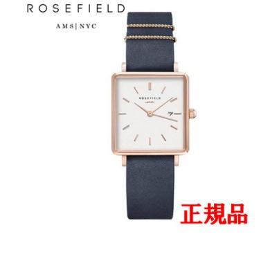 正規品 ROSEFIELD ローズフィールド The Boxy クォーツ メンズ腕時計 QSNBR-Q036