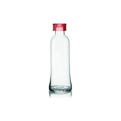 guzzini(グッチーニ) クール・スポーツボトル レッド ?9,5xh27cm ルリジア グラスボトル ICONS 115000.65