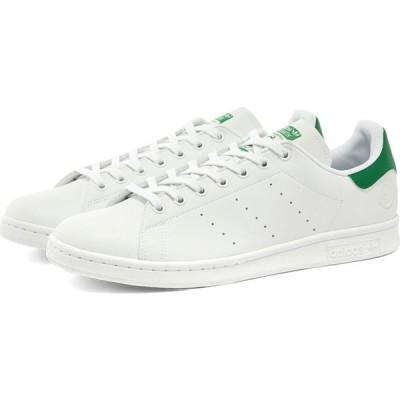 アディダス Adidas メンズ スニーカー スタンスミス シューズ・靴 stan smith vegan White/Green