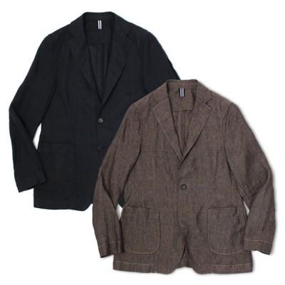 バグッタ / BAGUTTA / シャツ ジャケット / リネン100% / ガーメントダイ ( 製品染め ) /  RICK-GL CN0045 / セール / 返品・交換不可
