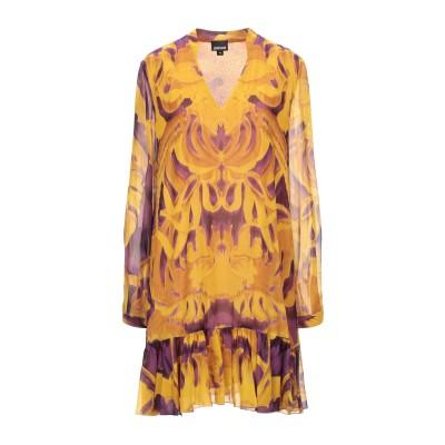 ジャストカヴァリ JUST CAVALLI ミニワンピース&ドレス オークル 38 レーヨン 100% ミニワンピース&ドレス