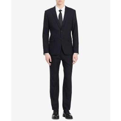 カルバンクライン メンズ ジャケット&ブルゾン アウター Men's  Infinite Slim-Fit Suit Jacket Sky Captain Blue