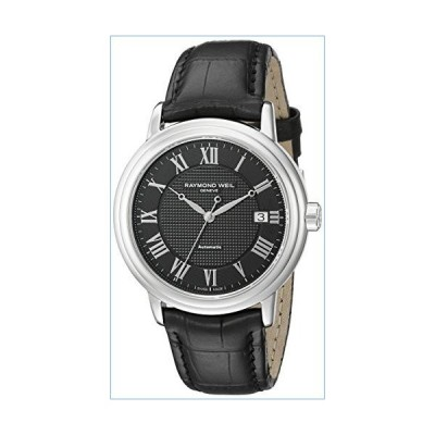 Raymond Weil Men's 2837-STC-00208 Stainless Steel Watch with Black Band並行輸入品