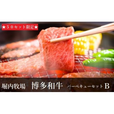 ★50セット限定★堀内牧場 バーベキューセットB