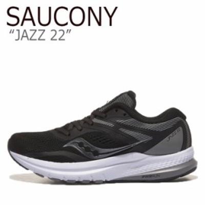 サッカニー スニーカー SAUCONY レディース JAZZ 22 ジャズ 22 BLACK ブラック S10567-35 シューズ