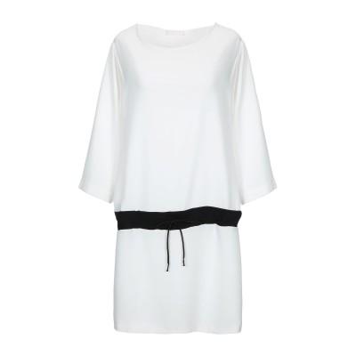 ANNIE P. ミニワンピース&ドレス ホワイト 38 ポリエステル 100% ミニワンピース&ドレス