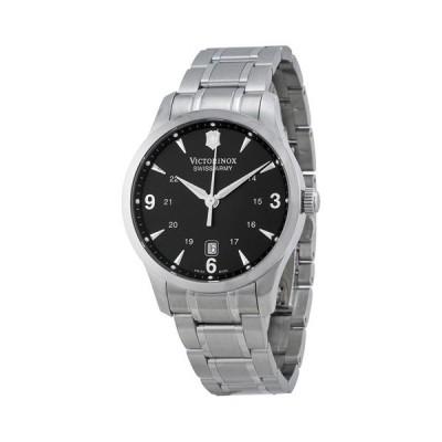 ビクトリノックス 腕時計 アライアンス 241473  ブラック×シルバー
