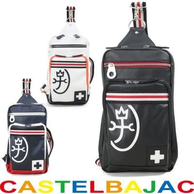 ボディバッグ メンズ CASTELBAJAC カステルバジャック パンセシリーズ ワンショルダー A4未満 縦型 軽量 メンズバッグ バッグ (59913)