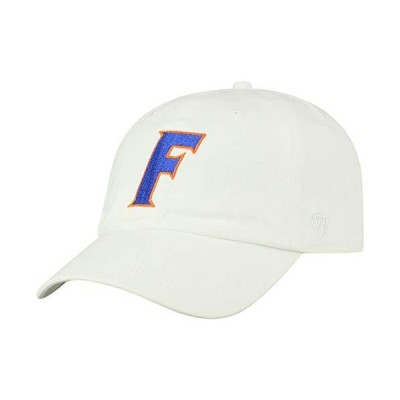 Top of the World Florida Gators Men's Adjustable Relaxed Fit White Icon hat