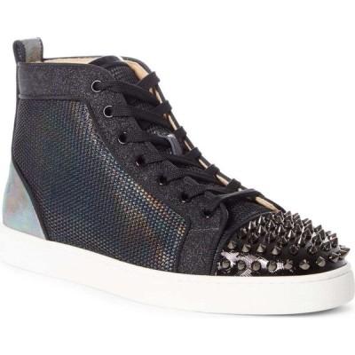 クリスチャン ルブタン CHRISTIAN LOUBOUTIN メンズ スニーカー ハイカット シューズ・靴 Louis Spikes Orlato High Top Sneaker Version Multi