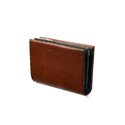 【カバンのセレクション】 キャサリンハムネット 財布 二つ折り財布 本革 メンズ レディース ミドル KATHARINE HAMNETT 490-58705 ユニセックス オレンジ フリー Bag&Luggage SELECTION