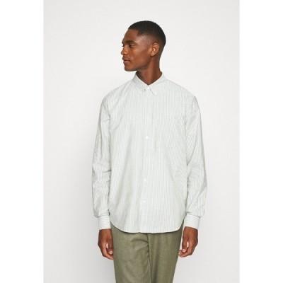 アーケット シャツ メンズ トップス Shirt - green medium