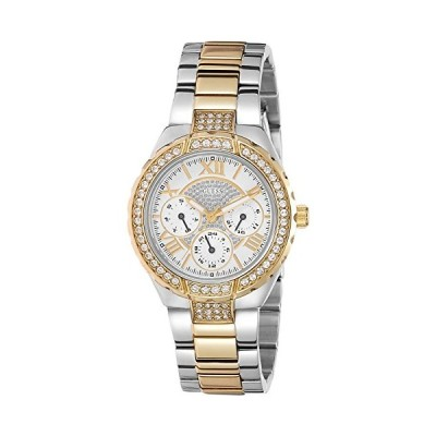 """GUESS Women's W0111L5 """"Sparkling Hi-Energy"""" Silver- And Gold-Tone Watch 並行輸入品"""