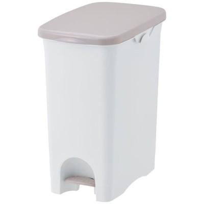 リス  ペダルペール ニーナカラー 45L ゴミ箱 グレー 1個