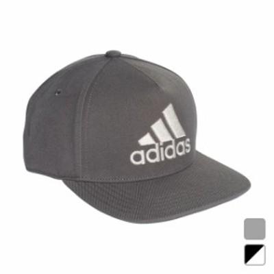 アディダス キャップ ロゴフラットキャップ (EBZ97) 帽子 adidas