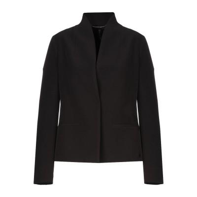 マニラ グレース MANILA GRACE テーラードジャケット ブラック 44 ポリエステル 89% / ポリウレタン 11% テーラードジャケット