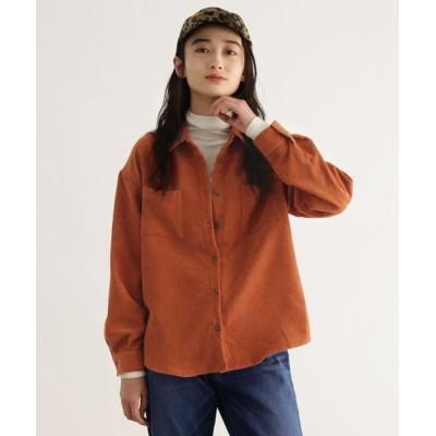 OZOC / [洗える]コーデュロイシャツ WOMEN トップス > シャツ/ブラウス