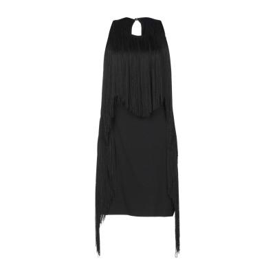 アンナリータ エンネ ANNARITA N ミニワンピース&ドレス ブラック 40 レーヨン 58% / アセテート 39% / ポリウレタン 3%