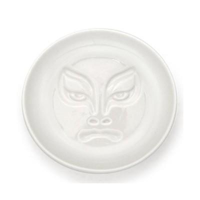 歌舞伎醤油皿 むきみ隈/3個入/プロ用/新品