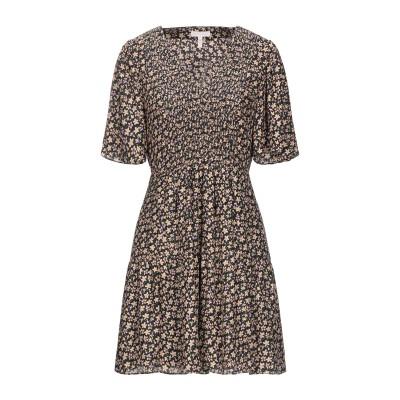 レベッカ・テイラー REBECCA TAYLOR ミニワンピース&ドレス ブラック 4 シルク 100% ミニワンピース&ドレス