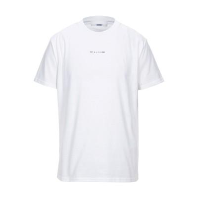 アリクス 1017 ALYX 9SM T シャツ ホワイト S コットン 50% / ポリエステル 50% T シャツ