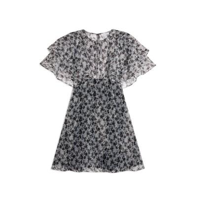 トップショップ TOPSHOP ミニワンピース&ドレス グレー 6 ポリエステル 100% ミニワンピース&ドレス