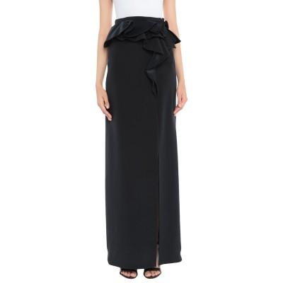 ジバンシィ GIVENCHY ロングスカート ブラック 38 シルク 100% ロングスカート