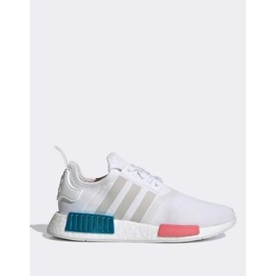 アディダス レディース スニーカー シューズ adidas Originals NMD sneakers in white