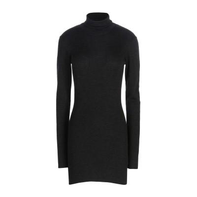 ドルチェ & ガッバーナ DOLCE & GABBANA ミニワンピース&ドレス スチールグレー 36 カシミヤ 100% ミニワンピース&ドレス