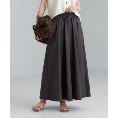 green label relaxing / ◆FFC コットン N タイプライター ギャザー スカート WOMEN スカート > スカート