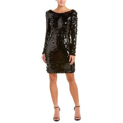 イシュー ワンピース トップス レディース issue New York Cocktail Dress black sequin
