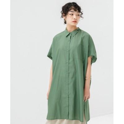koe / 肩タックシャツチュニック* WOMEN ワンピース > チュニック