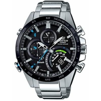[カシオ] 腕時計 エディフィス スマートフォンリンク EQB-501XDB-1AJF シル(中古品)