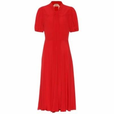 ヌメロ ヴェントゥーノ N21 レディース ワンピース ワンピース・ドレス Silk-blend dress red