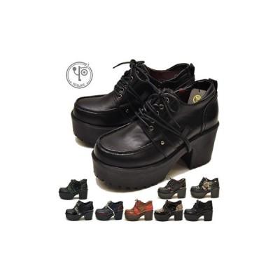 ヨースケ YOSUKE 靴 厚底レースアップシューズ レディース ※(予約)は5月下旬頃入荷分予約販売