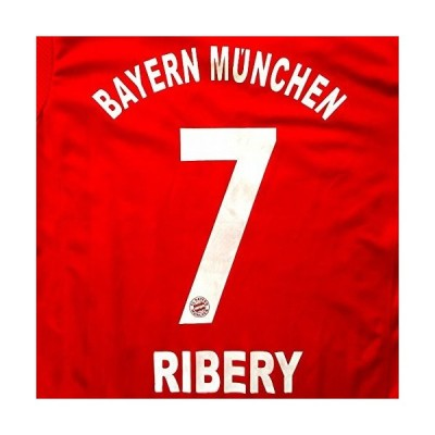 子供用 K022 バイエルンHOME RIBERY*7 リベリー 赤襟 17 ゲームシャツ パンツ付