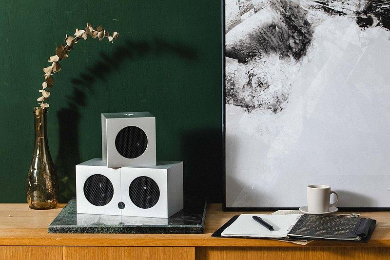 SoundGil CUBE 高保真主動式 Hi-Fi 藍芽音響 | 星河銀
