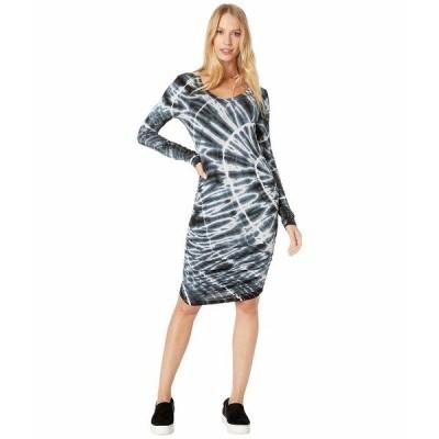 ハードテイル ワンピース トップス レディース Side Shirred Dress Sun Ray # 1