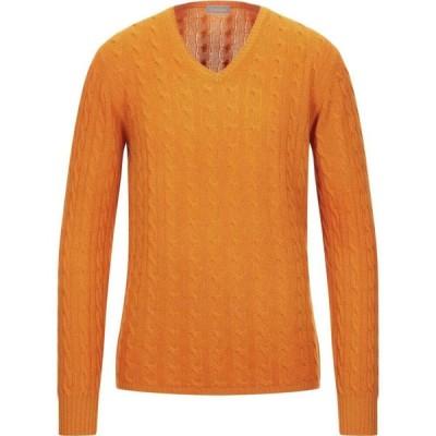 クルチアーニ CRUCIANI メンズ ニット・セーター トップス cashmere blend Orange