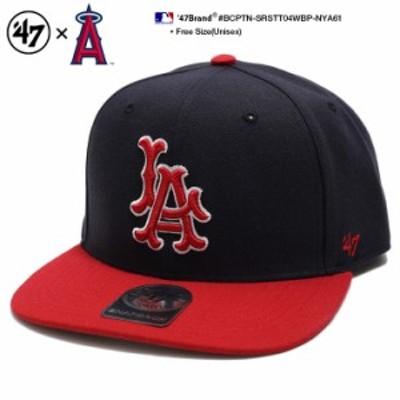 ロサンゼルス エンゼルス キャップ 帽子 【BCPTN-SRSTT04WBP-NYA61】 フォーティーセブンブランド 47BRAND かっこいい おしゃれ CAP MLB