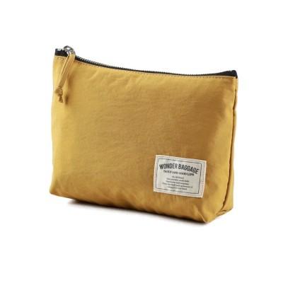 【カバンのセレクション】 ワンダーバゲージ サニー ポーチ メンズ レディース A5 WONDER BAGGAGE SUNNY wb-s-008 ユニセックス マスタード 在庫 Bag&Luggage SELECTION