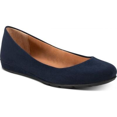 サンストーン Sun + Stone レディース スリッポン・フラット シューズ・靴 Eliana Flats Navy Micro
