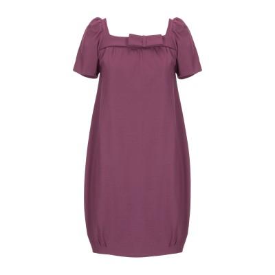 SHI 4 ミニワンピース&ドレス フューシャ 44 レーヨン 65% / ナイロン 20% / ポリウレタン 15% ミニワンピース&ドレス