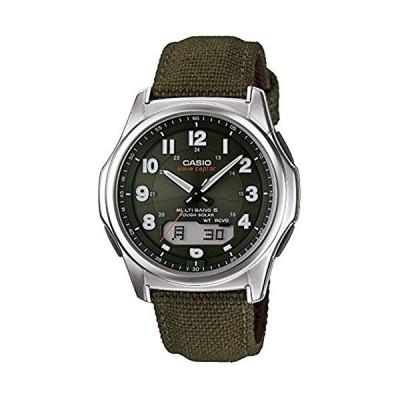 [カシオ] 腕時計 ウェーブセプター 電波ソーラー WVA-M630B-3AJF グリーン