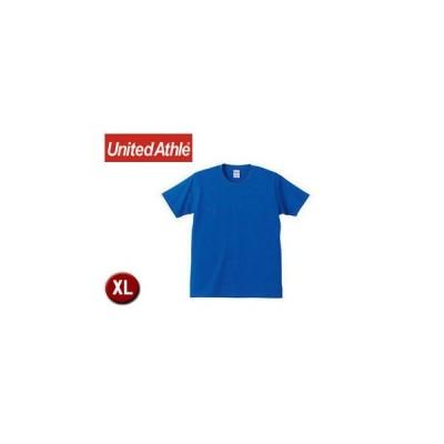 United Athle/ユナイテッドアスレ  540101C  5.0オンスTシャツ アダルトサイズ 【XL】 (ロイヤルブルー)