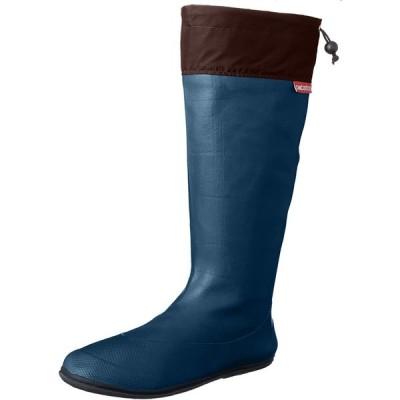 [アトム] 軽くてコンパクト 携帯するブーツ ポケブー pokeboo 両足で500g以下の軽量長靴 371 メンズ ロイヤルブルー 25.5cm~2